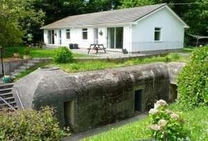 German Bunker, La Collinette Hotel, Guernsey