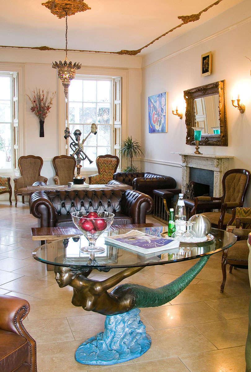 La Collinette Hotel Reception Lounge