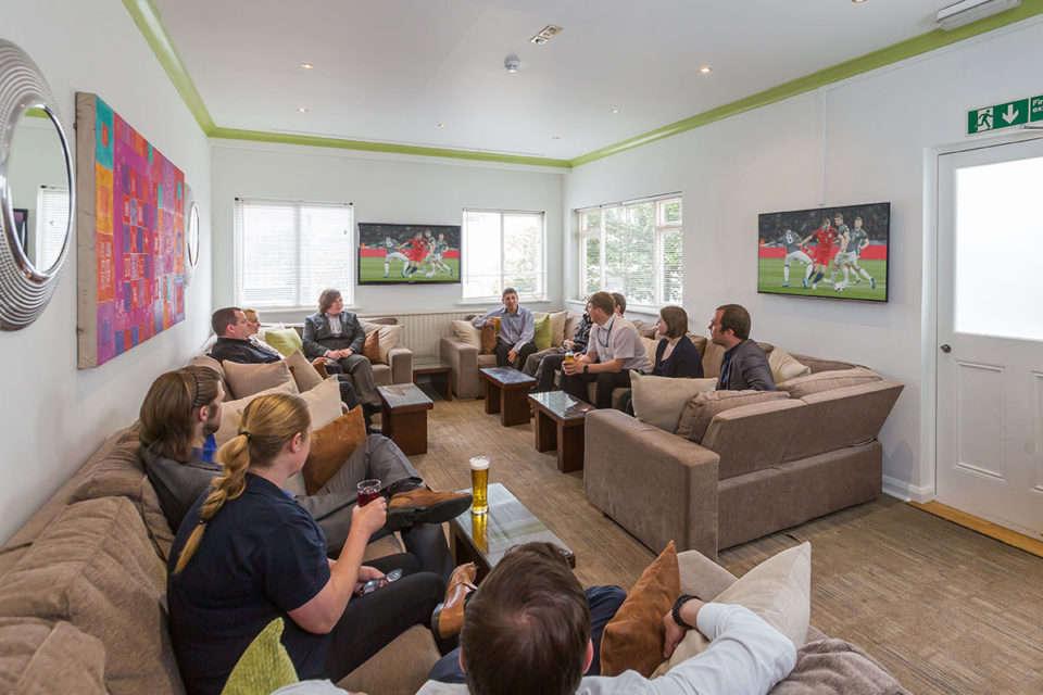 La Collinette Hotel Sports Lounge