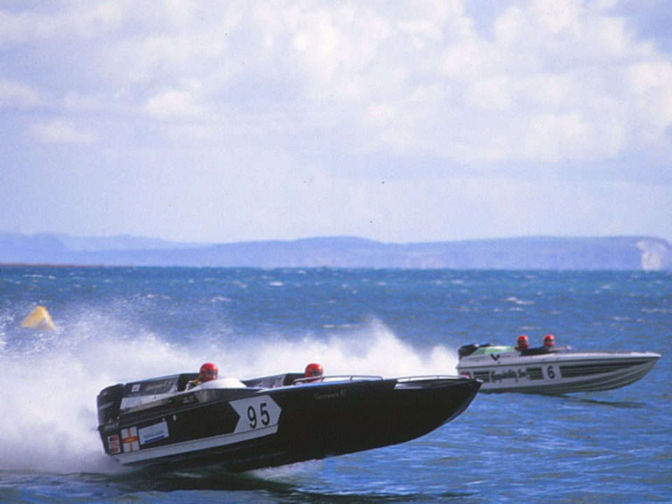 Powerboat racing in Guernsey